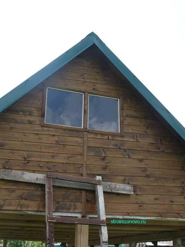 Как сделать окна на фронтонах