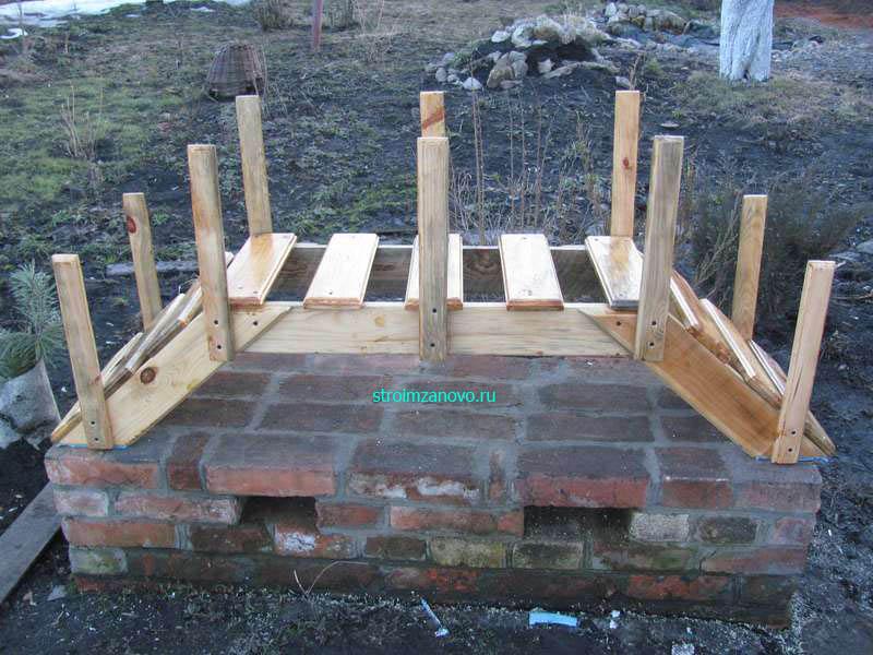 Как сделать деревянный мостик своими руками 4