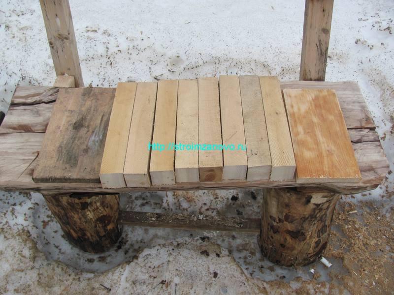 Поделки из деревянных брусков 38