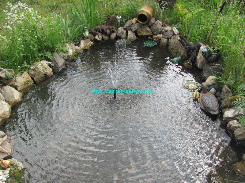 Как сделать уток для пруда 918