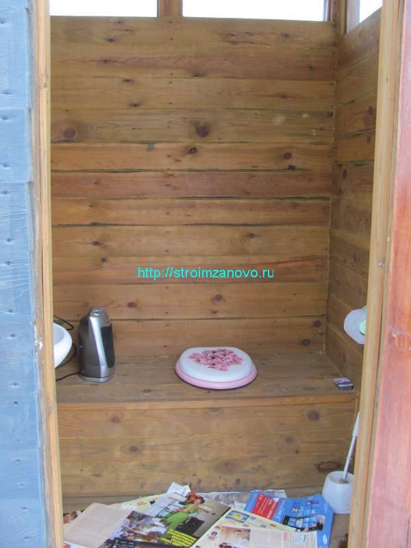 Стульчак для дачного туалета своими руками пошагово