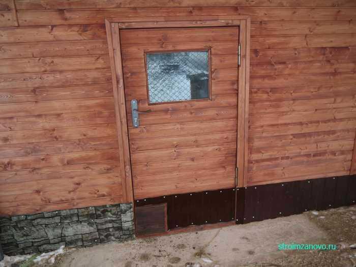 Автоматические двери в курятнике