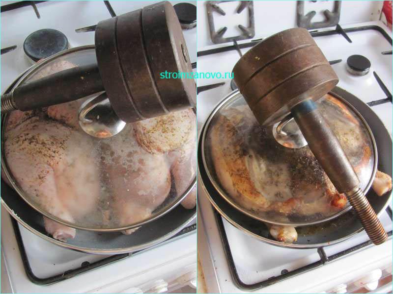 Как сделать табака на сковороде 887