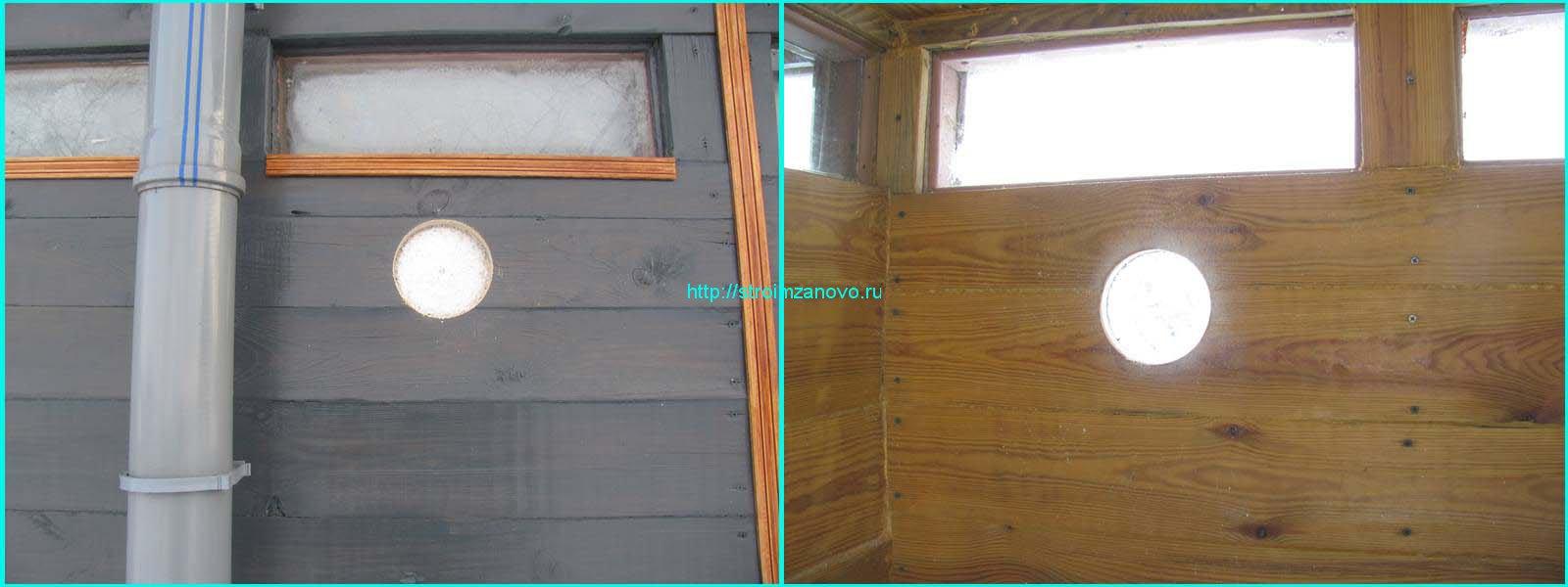 Вентиляция в дачном туалете фото