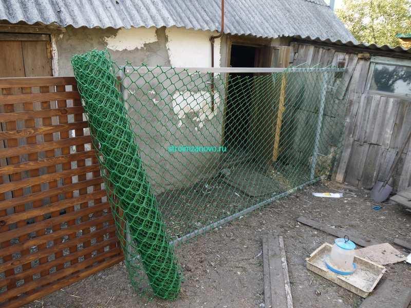 Как правильно сделать забор из пластиковой сетки