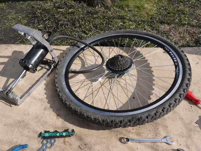 Велосипед скоростной своими руками 393