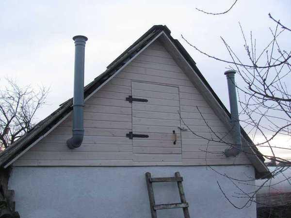 фронтон крыши