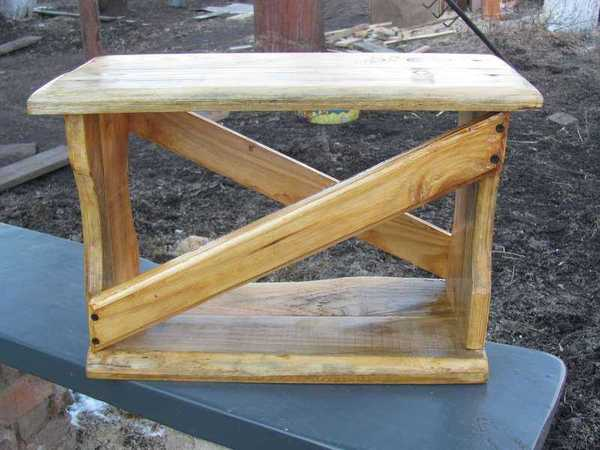 скамейка для грядки
