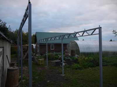 ферма для навеса