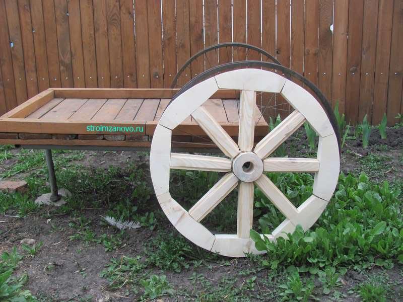 Как сделать колесо для телеги своими руками фото 245
