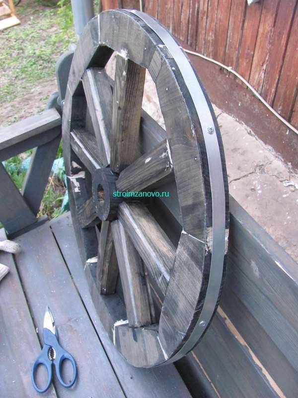 Как сделать колесо для телеги своими руками фото 351