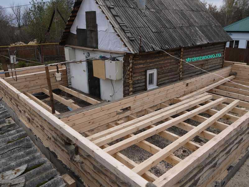 строительство нового дома вместо старого